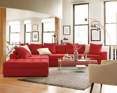 Cheap Furniture For Living Room. Living 390x310 2  American Signature Furniture Designer Looks for Less